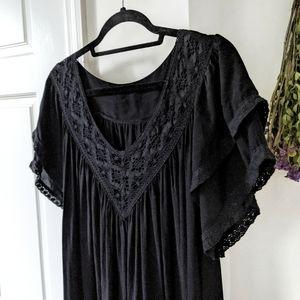 Vintage Italian Silk Maxi Dress